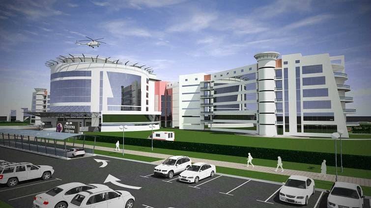 Будівництво лікарні 3 рівня в Краматорську: контракт підписаний, але роботи поки не почнуться