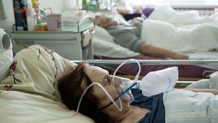 У Краматорську збільшується число пацієнтів, які перебувають на кисневій підтримці
