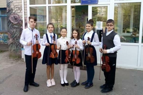 Юні скрипалі Школи мистецтв №3 Краматорська перемогли в міжнародному музичному марафоні